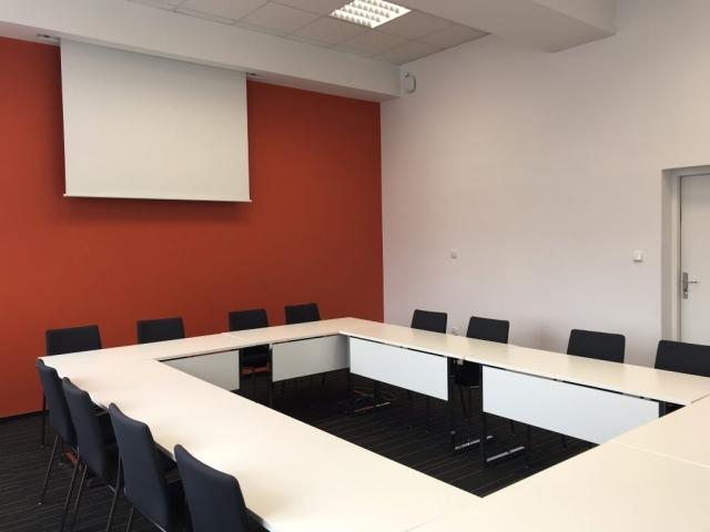 Sala konferencyjna Synergy - piętro pomarańczowe