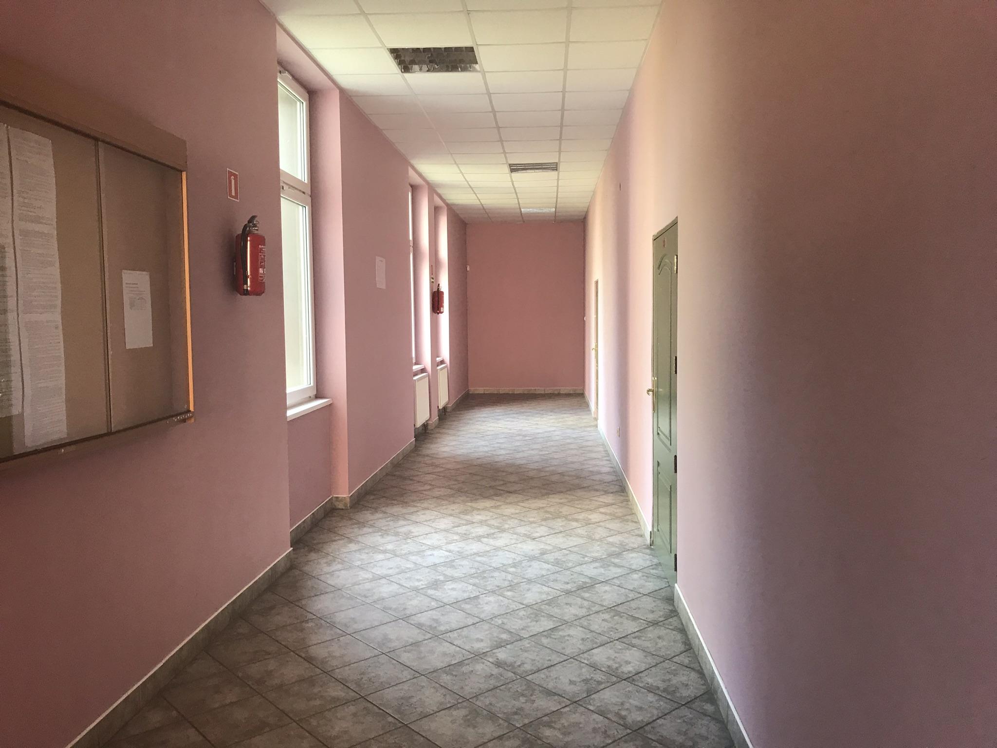 Wejścia do sal szkoleniowych
