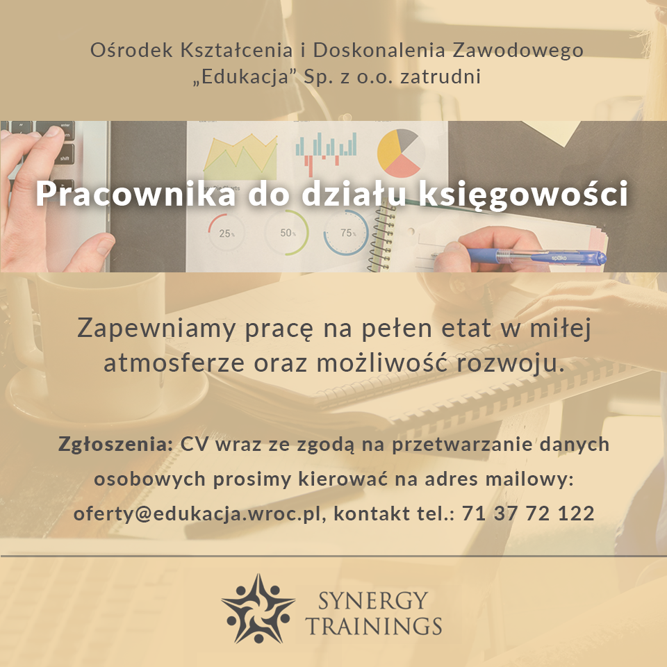 Praca w Synergy Trainings